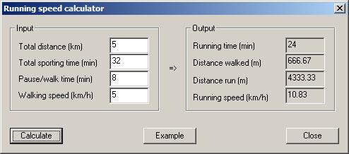 how far have i run calculator